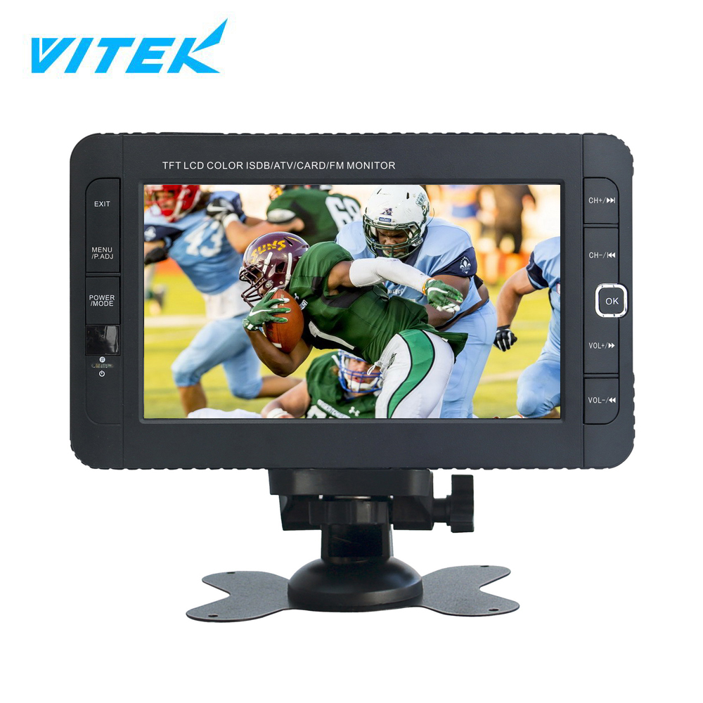 VTEX Wholesale low cost 7 inch mini flat screen portable digital lcd tv,small size outdoor tv