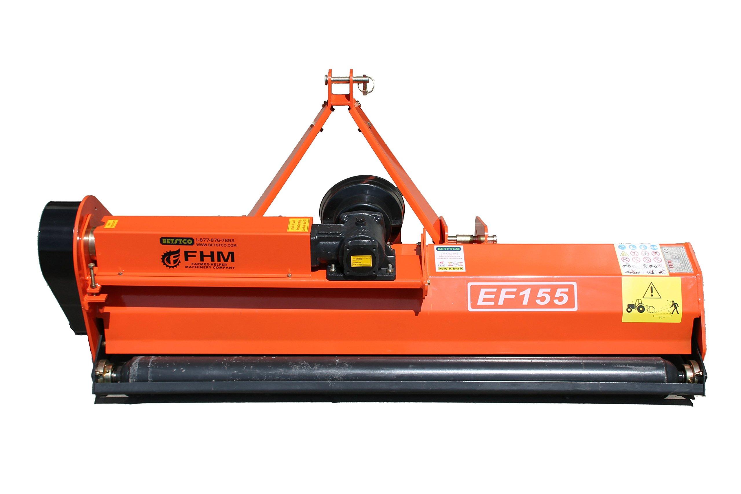 "Farmer Helper 60"" Flail Mower Cat.I 3pt 20HP+ Rating (FH-EF155)"