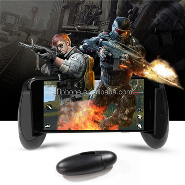 New Product Mobile gamepad playerunknown's battlegrounds 3d keychain play game controller