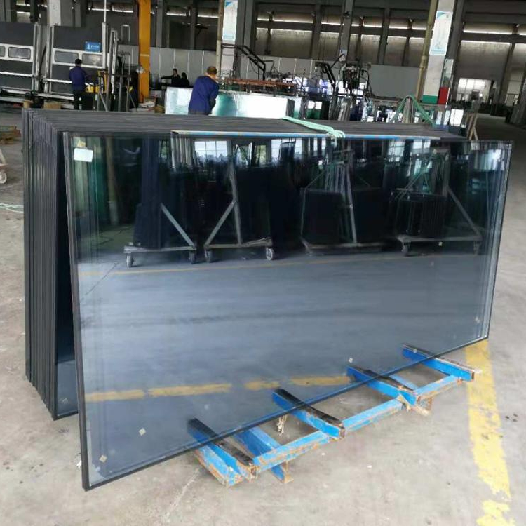 8+12A+8mm Low-e tempered insulating glass curtain wall glass with  competitive prices