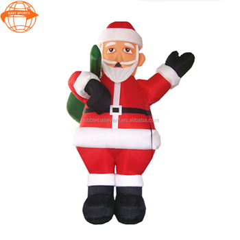esc0011 factory outlet christmas inflatable musical santa claus for decoration - Christmas Decorations Factory Outlet