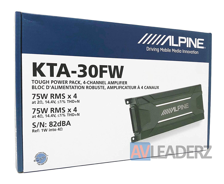 Cheap Alpine 2 Channel Amp Find Deals On Line Fosgate R250x4 250 Watt Rms 4channel Car Amplifier Wire Kit Get Quotations Kta 30fw 4 Power Tough Pack