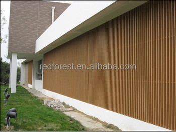 Wood Plastic Composite Exterior Wall Cladding Panel Boards And Banding Buy Wall Cladding Wpc
