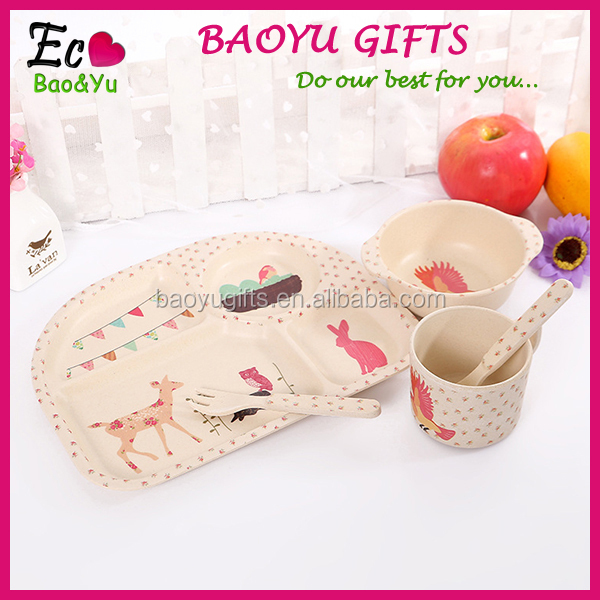 Wholesale Dinnerware Set For Baby Design Your Own Dinnerware Kids Plate Set