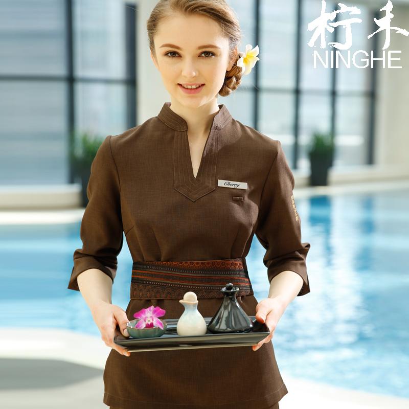 Spa uniforme compra lotes baratos de spa uniforme de for Spa uniform china