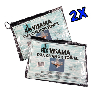 Custom Cooling Towel with clip Lock Bag PVA Chamois Towel for Swimming , Cars and Pets (Pack of 2)