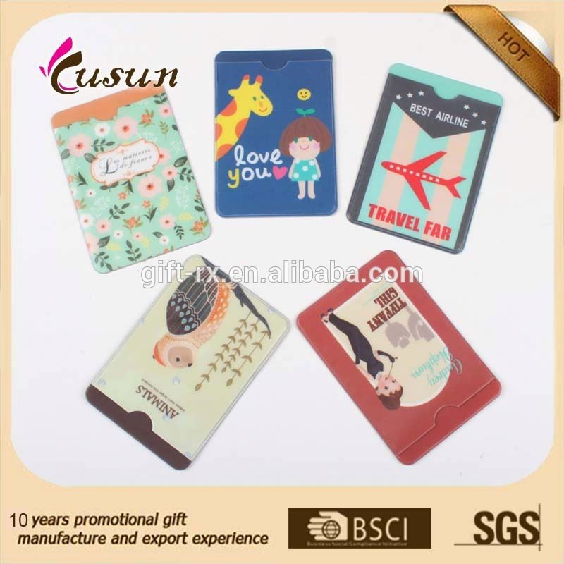 The best price high quality credit pvc card holder wallet