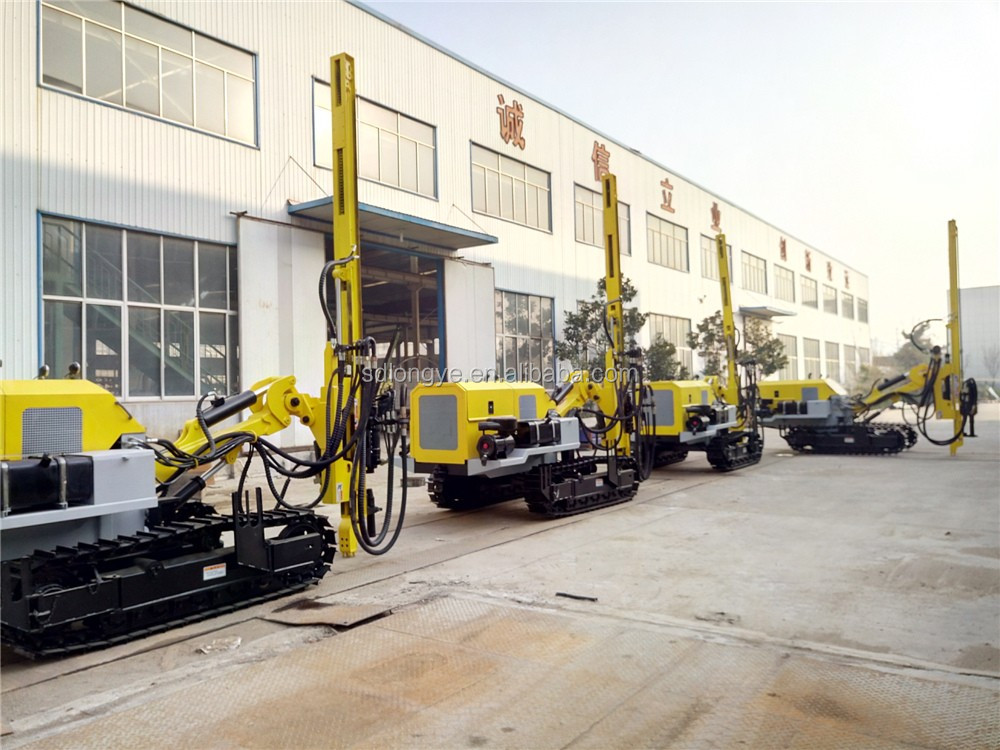Factory Wholesale Crawler Dth Borehole Portable Drilling Rig Price Mobile China Small Mine Drilling Rig Machine G140YF