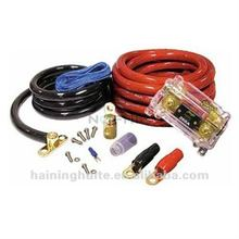 High Quality Professional 0 Gauge Wiring Kit with Fuse blocks