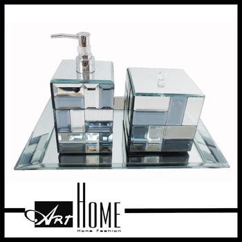 Heisser Verkauf Hotel Balfour Bad Accessoires Glas Badezimmer Set