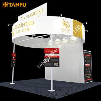 Exhibition Stand Circle : Tanfu circle banner trade show exhibition booth buy