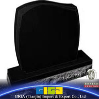 GIGA chinese cheap black marble monuments