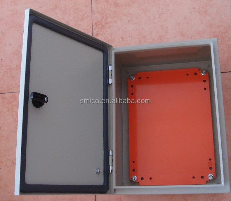 Outdoor distribution steel Enclosure box/pole wall mounted type/electrical distribution box