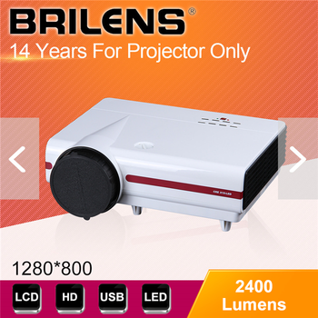 High Quality Brilens skylar LED LCD 4.2 android projector