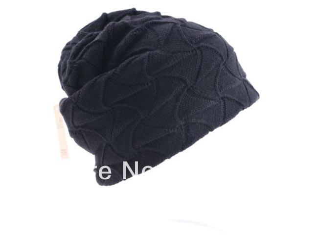 3eadeeaf623 Wholesale 2014 Winter Men Beanies Women Slouchy Hat Knitting Oversized  Beanie Hats Crochet Mens .. New Womens Ladies Grils Rabbit Fur Baggy ...