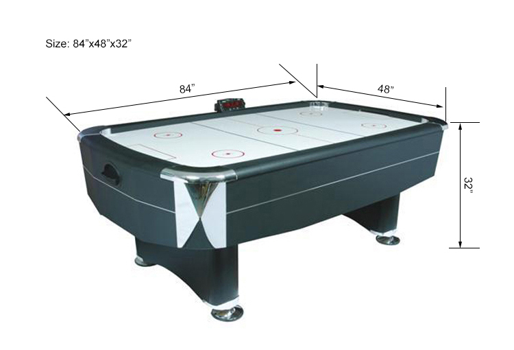 SZX 84'' Classic coin operated air hockey table for sale