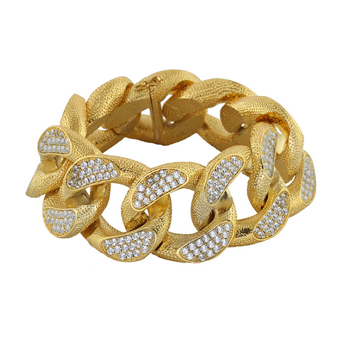 women rhinestone crystal hollow new gold bangle eshkol product plate big for leaf shimmering free viennois feather bracelet rose