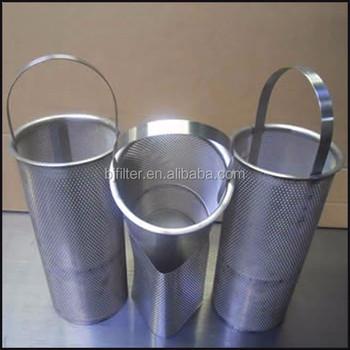 basket strainer oil filter element - Strainer Basket