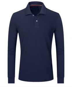 polo tshirt long sleeve with button and rib in collar and cuff plain colour cotton golf polo t-shirt bangladesh polo shirt