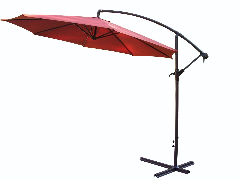 Oakland Living Cantilever Umbrella, 10-Feet, Burnt Orange (Discontinued by Manufacturer)