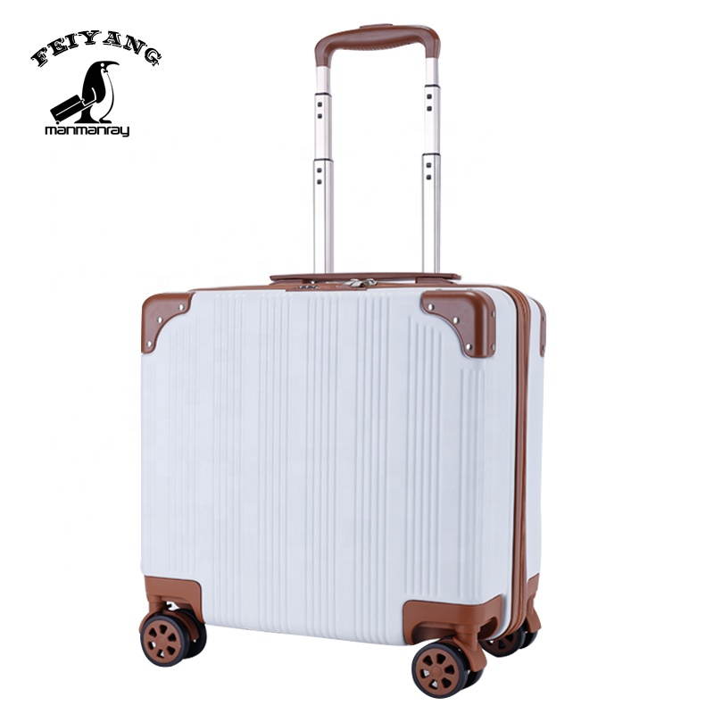 18inch <strong>ABS</strong> Carry on Luggage Business Suitcase <strong>abs</strong> trolley luggage airport luggage trolley