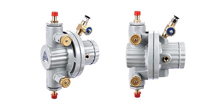 0.5Mpa 10L//MIN BML-5 Pneumatic Single Diaphragm Pump