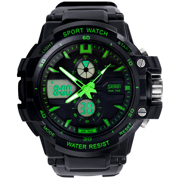 2017 New Style Fashion Mens Digital Sports Watches From Guangzhou