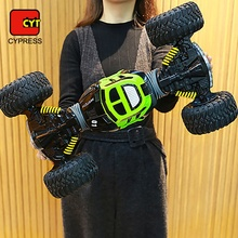 2019 doppel Seite Stunt Auto Klettern Auto <span class=keywords><strong>RC</strong></span> 4WD <span class=keywords><strong>Rock</strong></span> <span class=keywords><strong>Crawler</strong></span>
