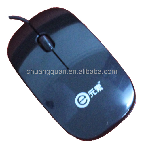 Wired optical Ultra-thinm mouse with zoom in and oom out functions