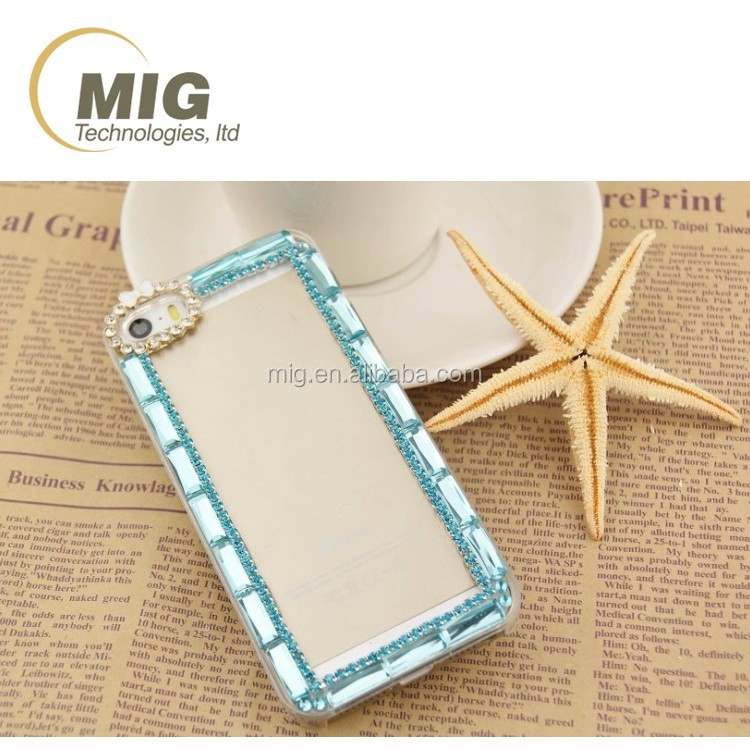Clear PC crystal back cover case with diamond for samsung note 5 hard case for samsung s3 s4 s5 s6 note 2 3 4 5