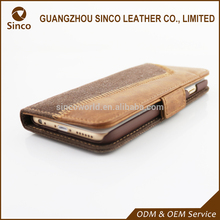 China Made Genuine Leather Blank Case For iPhone 6 With Professional Technical Support