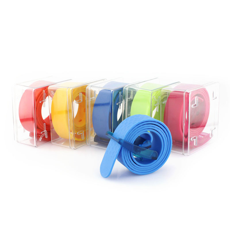 Silicone rubber belts