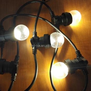 Uk Plug 240v 50m B22 Lamp Holders String Festoon Light Exterior Holder Product On