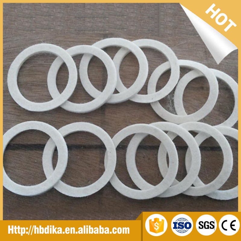 Top quality pure wool felt seals gasket sheet