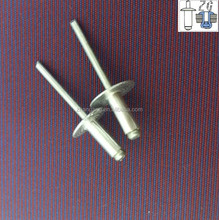 2015 China Fasteners Supplier Products Open Type Large Head Aluminium Aircraft Rivet