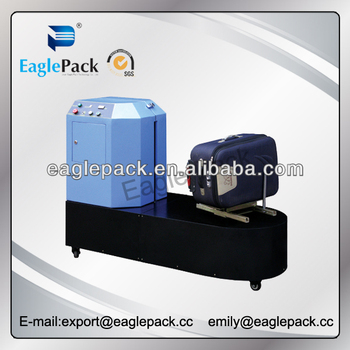 suitcase wrapping machine