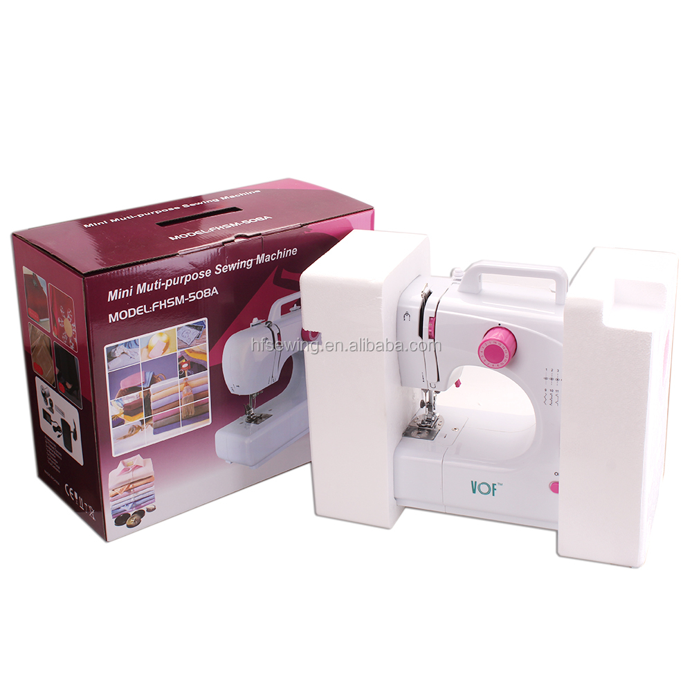 VOF FHSM-508 Zigzag Electric Automatic Sewing Machine for Handbags and T-shirt