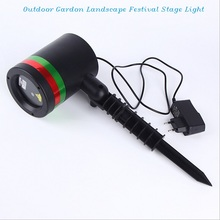 China Supplier Advertising Laser Projector Outdoor Christmas Laser Stage Light