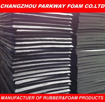 Black Closed Cell EPDM Rubber Foam Rolls