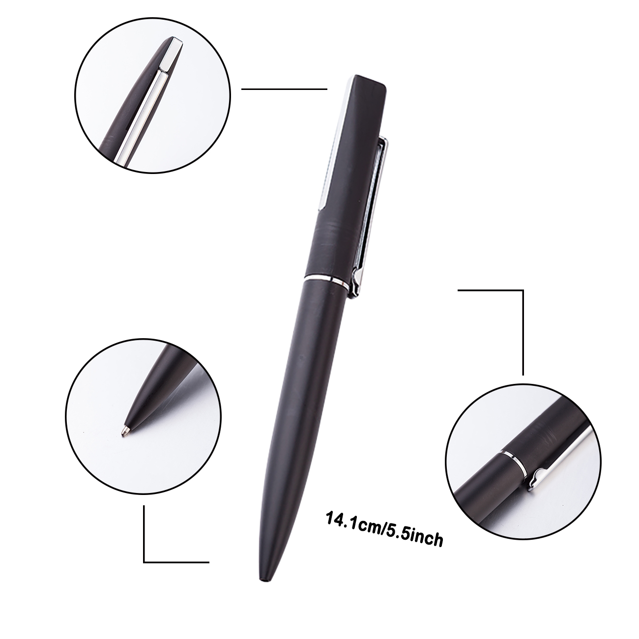 Huahao brand metal ball point pen promotional cheap with custom logo high quality pen for promotion gift