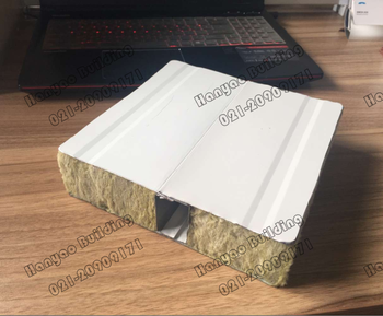 Malaysia sandwich panel board thermal insulation rockwool for Quick therm insulation cost