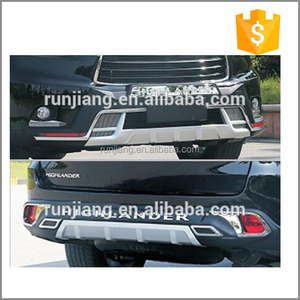 Original Front & Rear Bumpers for Toyotas Highlander 2015