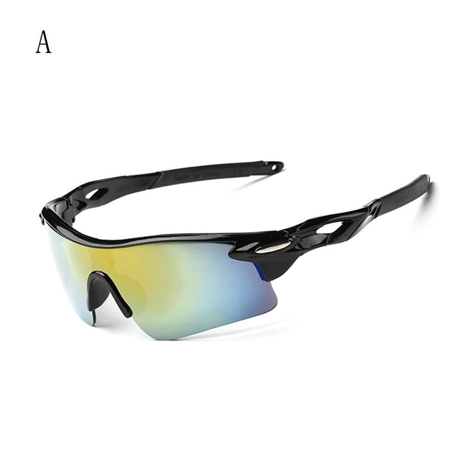 0d17e1e5df7b Get Quotations · Flank Outdoor Sport Polarized Glasses,Cycling UV Eye  Protection Windproof Glasses With Lens For Outdoor