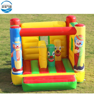 Pony Small Clown Inflatable Bounce House Inflatable Castle Bouncer