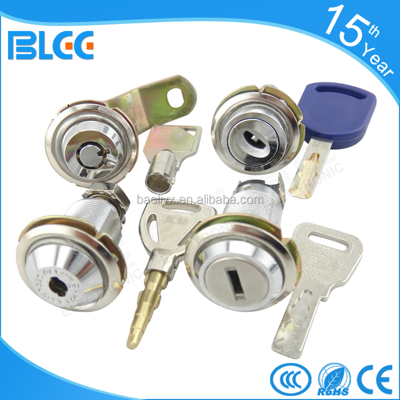 Made in China Best price key cam metal cabinet security cylinder door lock