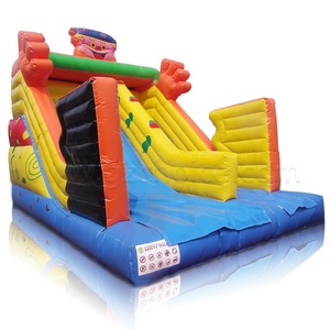 New Custom small indoor inflatable dry slide for kids