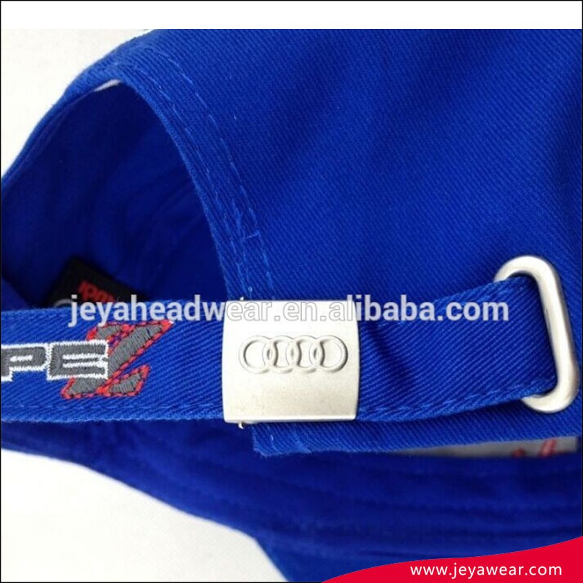 dd36a658aebd9 Sports tame logo embroidered blue baseball caps Racing brand car baseball  cap and hat with metal