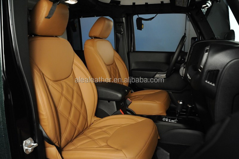 High Quality Customized Italian Leather Car Seat Cover For Jeep ...
