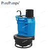 submersible sludge pump 2hp to 20hp with high chrome alloy impeller and agitator