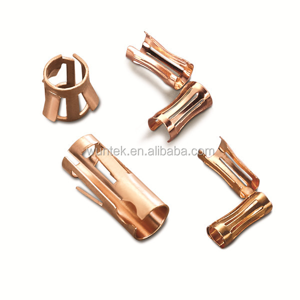 OEM Custom Metal Stamping Electrical Spring Contact